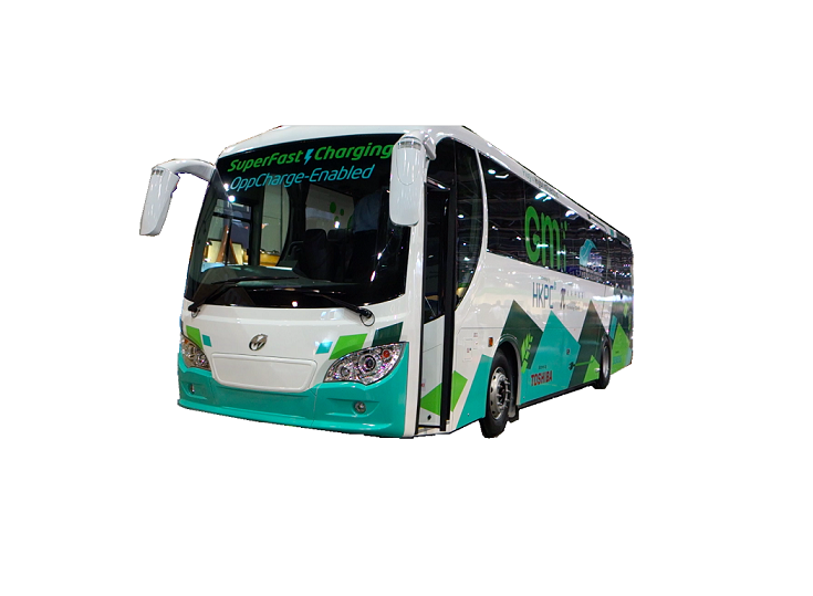 12 meter range extended electric coach
