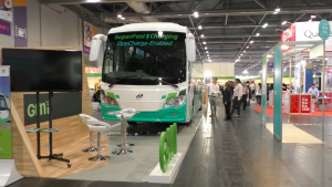 GMI硏發港首輛混合動力客車 於國際環保博覽展出