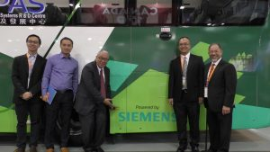 GMI Hybrid Electric Coach is powered by Siemens